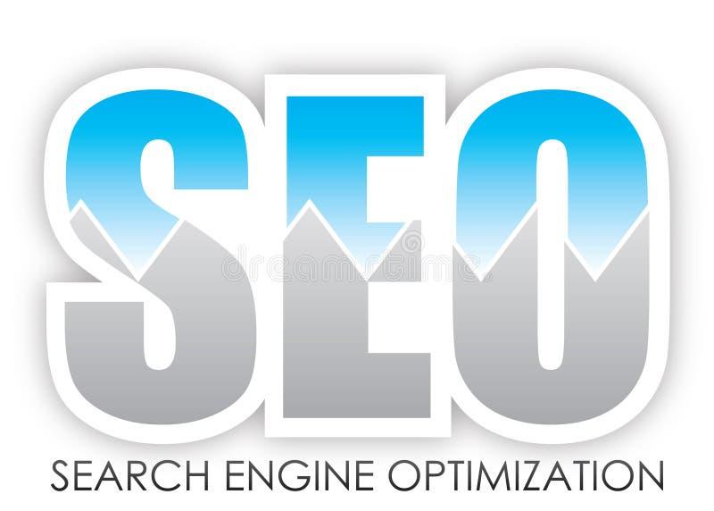 Ottimizzazione di Search Engine illustrazione vettoriale