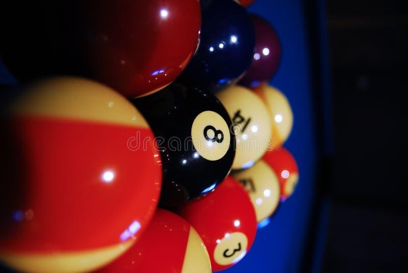 Otto sfere, sfere di raggruppamento 02 fotografia stock libera da diritti