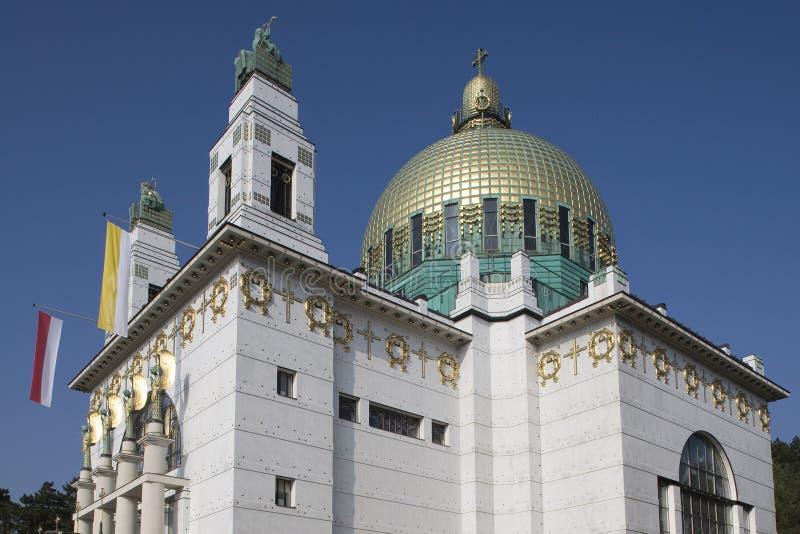Otto-Wagner-Église images libres de droits
