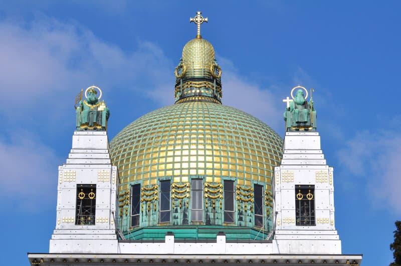 Otto Wagner Church, Vienne photographie stock libre de droits