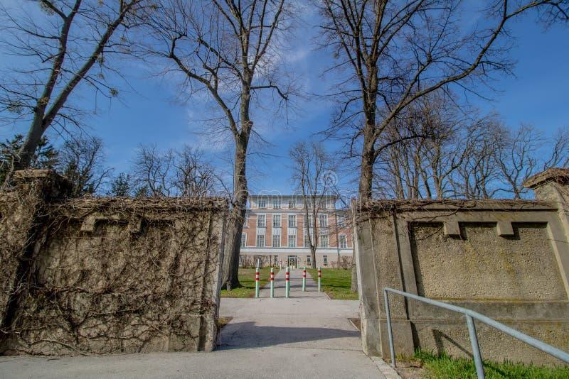 Otto Wagner Hospital ? Vienne, Autriche photo stock