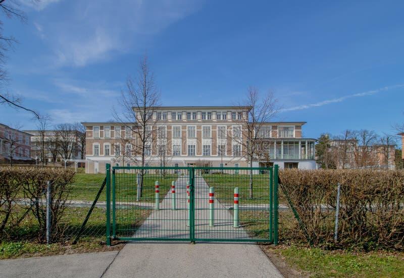 Otto Wagner Hospital ? Vienne, Autriche photo libre de droits