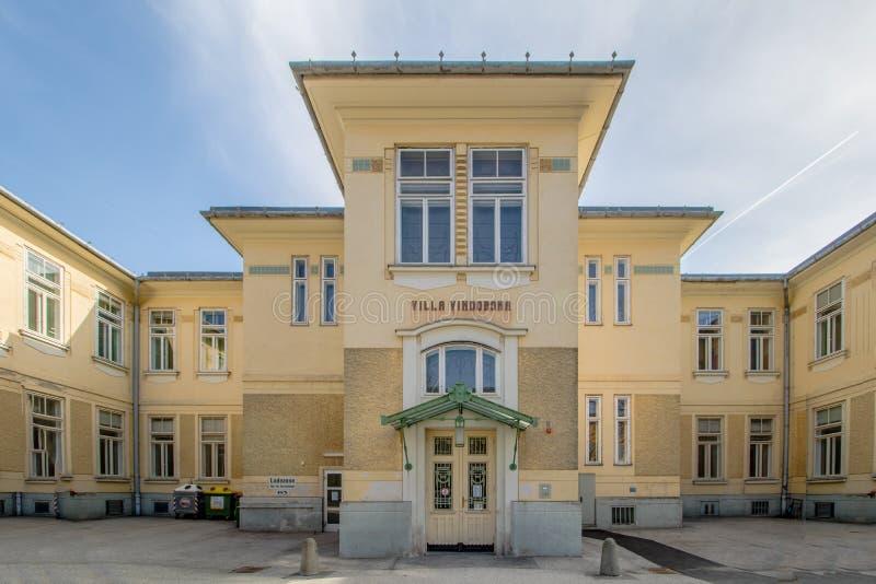 Otto Wagner Hospital ? Vienne, Autriche photographie stock libre de droits