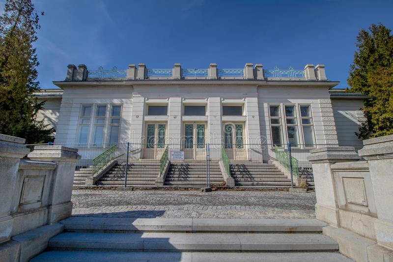 Otto Wagner Hospital ? Vienne, Autriche photos libres de droits