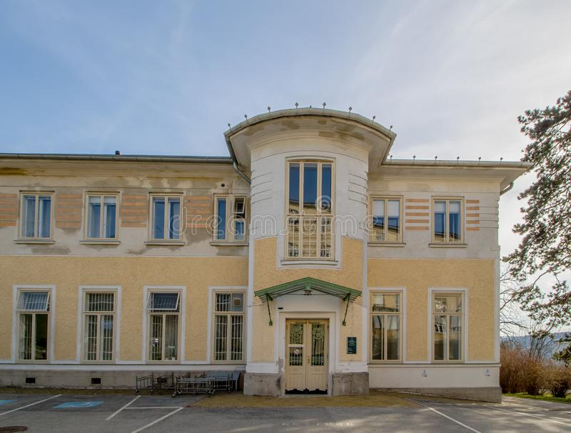 Otto Wagner Hospital ? Vienne, Autriche images stock
