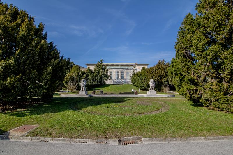 Otto Wagner Hospital ? Vienne, Autriche image stock