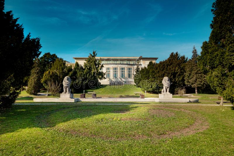 Otto Wagner Hospital ? Vienne, Autriche photographie stock