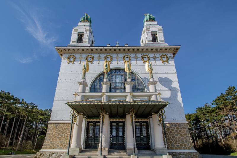 Otto Wagner Hospital ? Vienne, Autriche photos stock