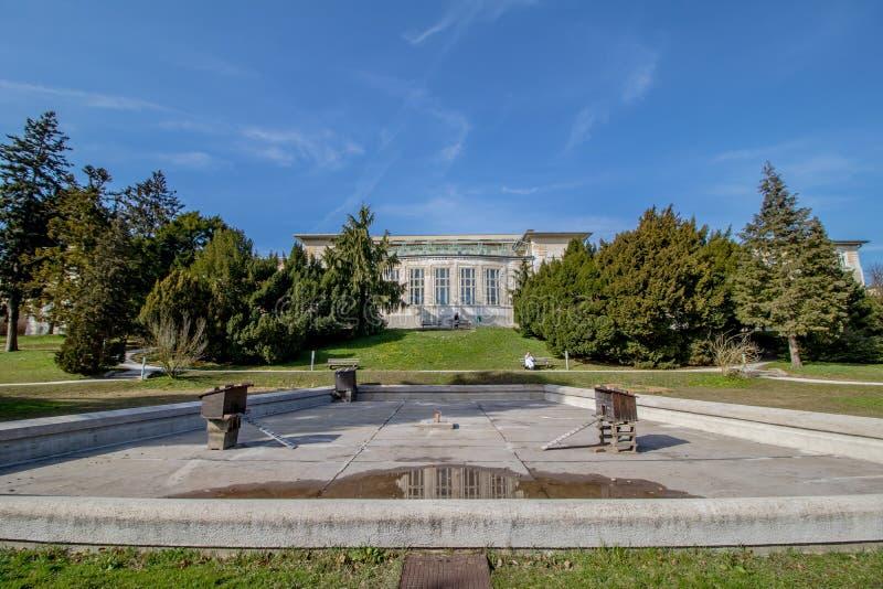 Otto Wagner Hospital ? Vienne, Autriche images libres de droits