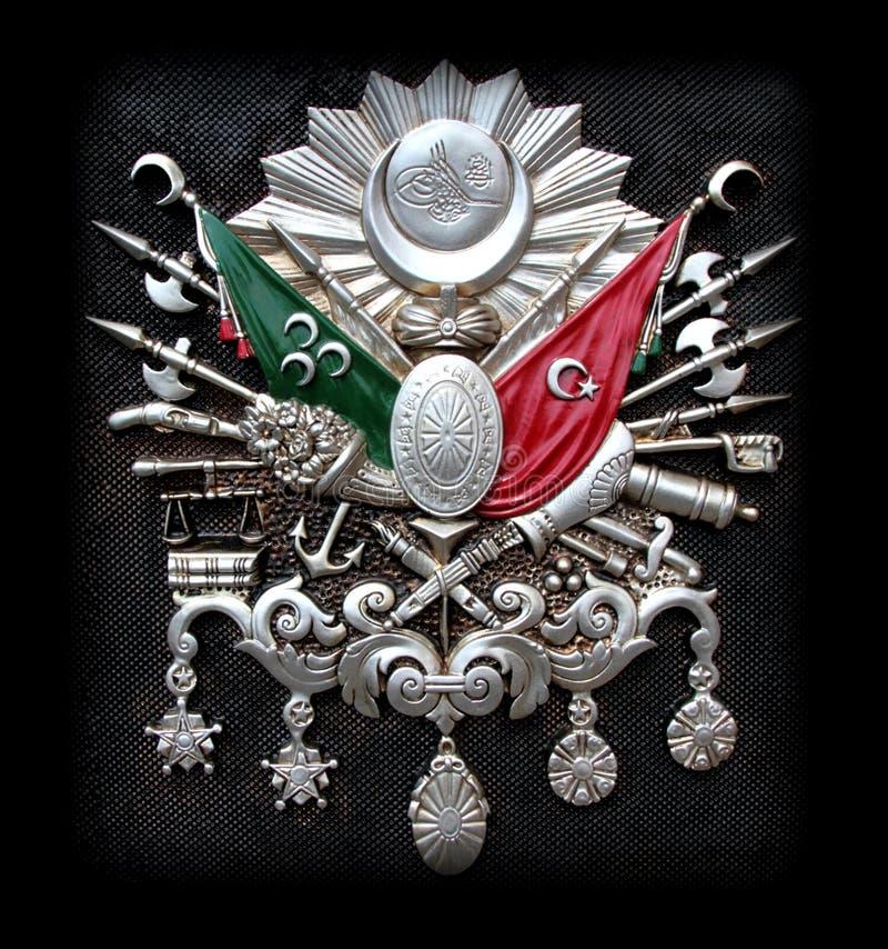 Ottoman Empire Emblem royalty free stock images