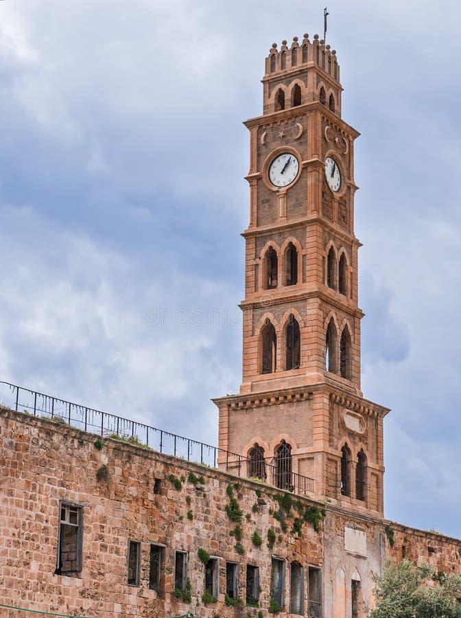 Ottoman landmark building - Han El-Umdan royalty free stock images