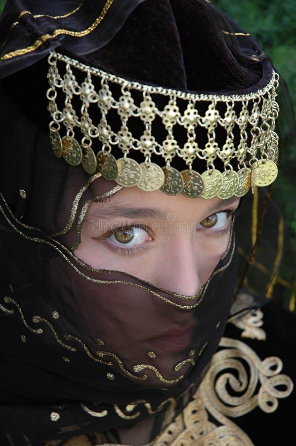 Ottoman Princess royalty free stock photos