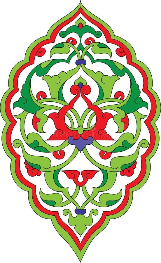 Ottoman rumi design vector illustration