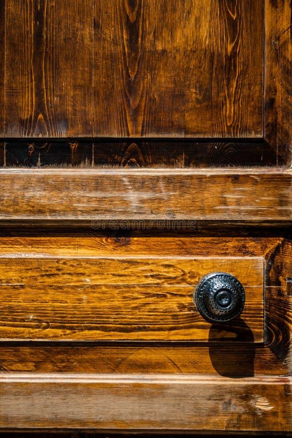 Ottoman Style Wooden House Door stock photos