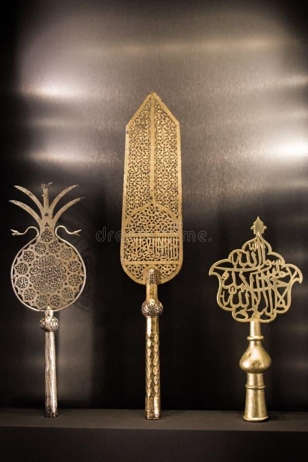 Ottoman Turkish art icon in view royalty free stock photos