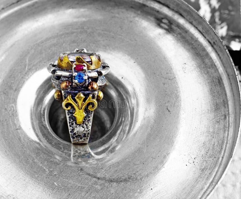 Ottoman Vintage Ring Royalty Free Stock Photo
