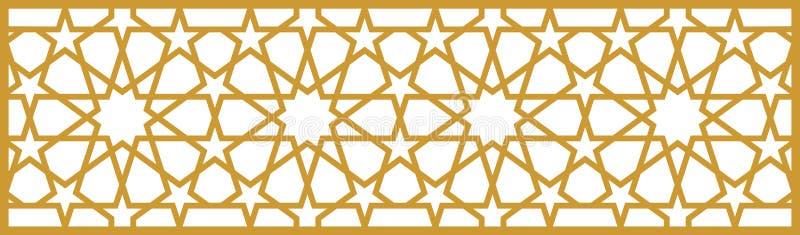ottomanmodell royaltyfri illustrationer