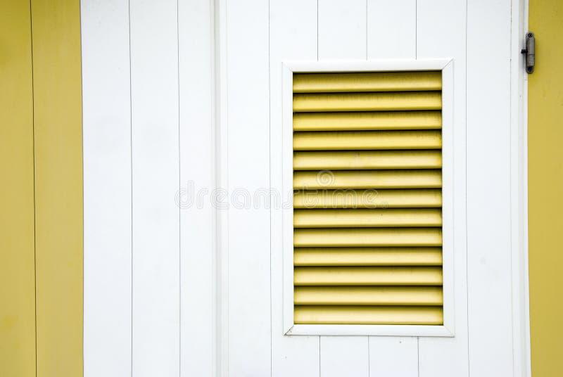 Otturatore giallo fotografie stock