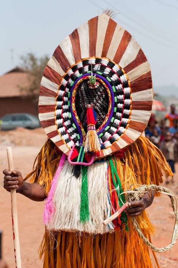 Otuo Ukpesose festiwal - Itu Podaje się w Nigeria obraz royalty free