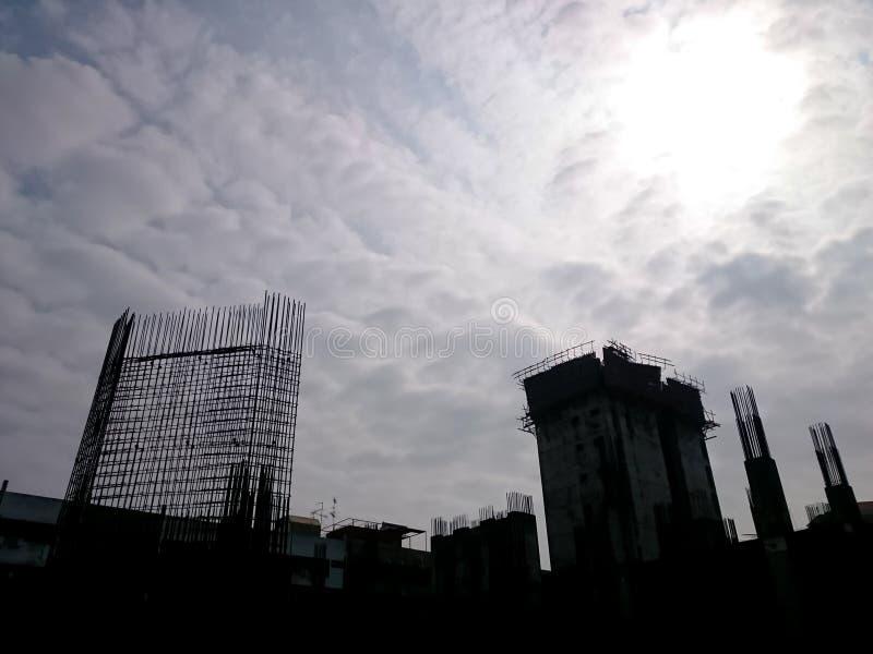 Otvungenhetutvecklingsplats royaltyfri foto