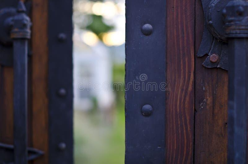 otwórz drzwi obraz stock