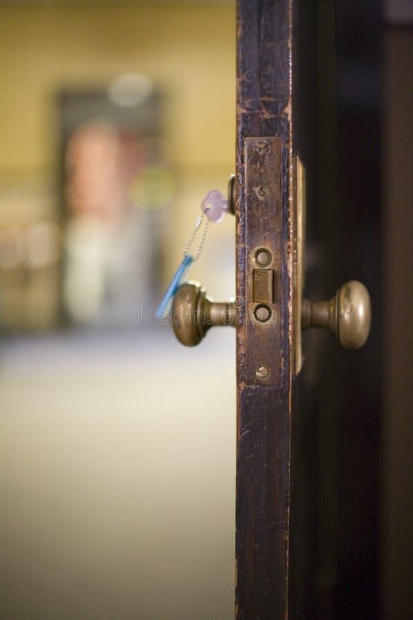 otwórz drzwi zdjęcia royalty free