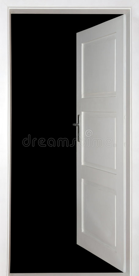 otwórz drzwi obraz royalty free