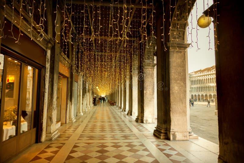 Otwórz galerię w Wenecji zdjęcia royalty free