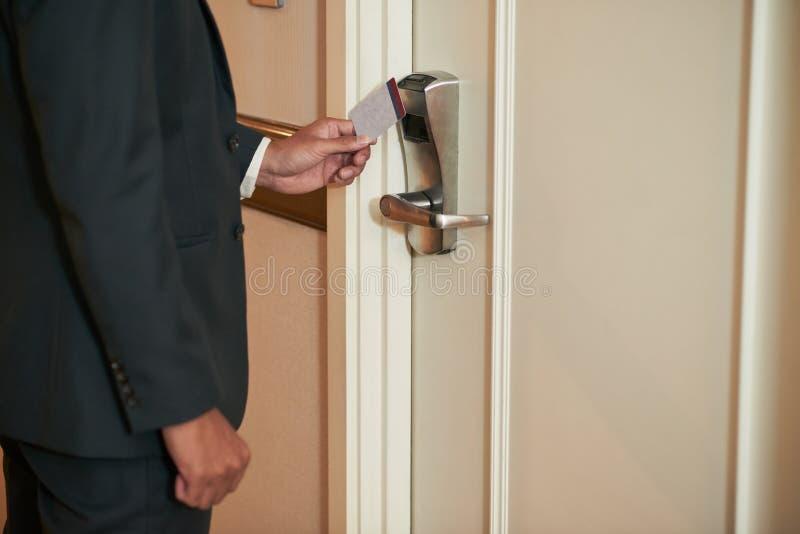 Otwarcia drzwi zdjęcie stock