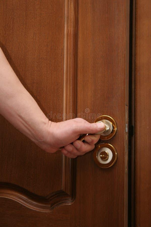 otwarcie drzwi zdjęcie royalty free