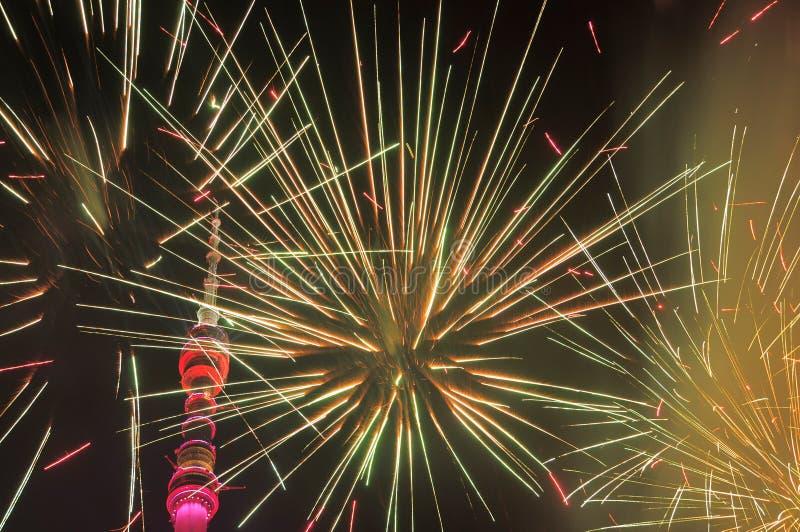 Otwarcie Moskwa festiwal 'lekki 'okrąg zdjęcie stock