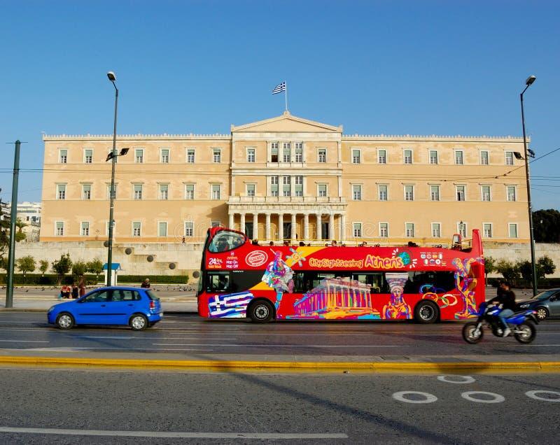 otwarta Athens wycieczka turysyczna fotografia royalty free