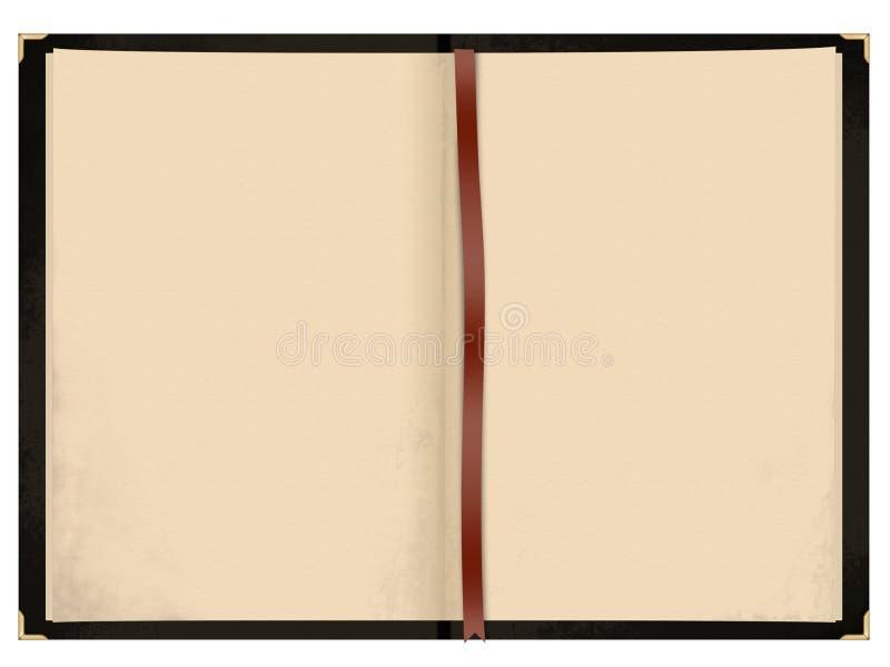 otwarta pusta książka royalty ilustracja