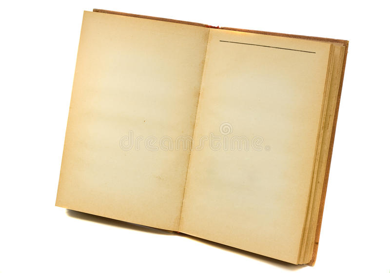otwarta pusta książka obrazy royalty free