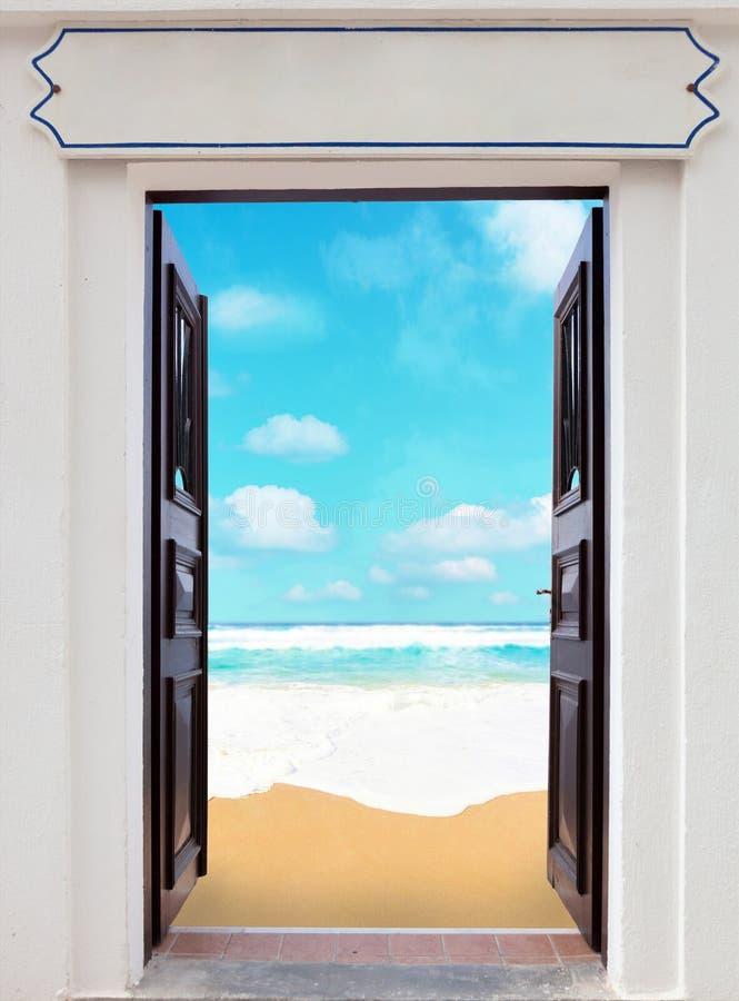 Otwarte drzwi zdjęcia royalty free