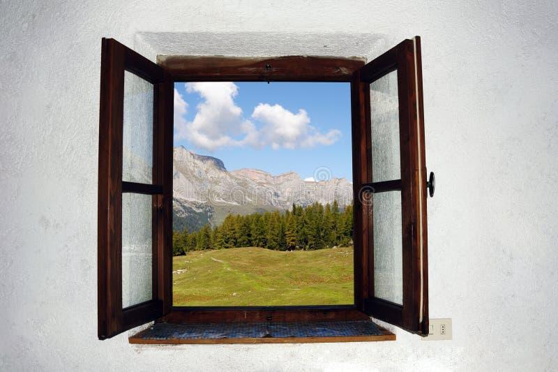 otwarte okno zdjęcia royalty free
