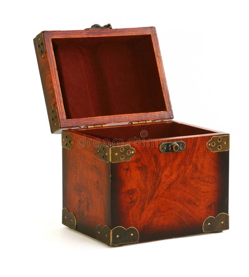 otwarty bagażnik sklepom z drewna zdjęcie royalty free
