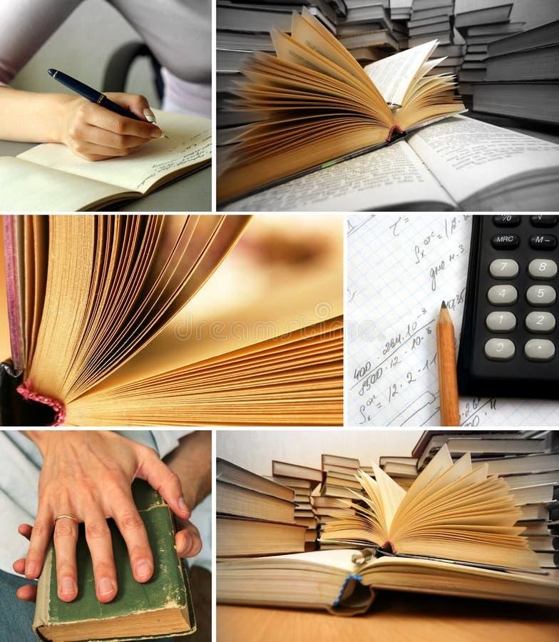 Otwierać i brogować książki zdjęcia stock