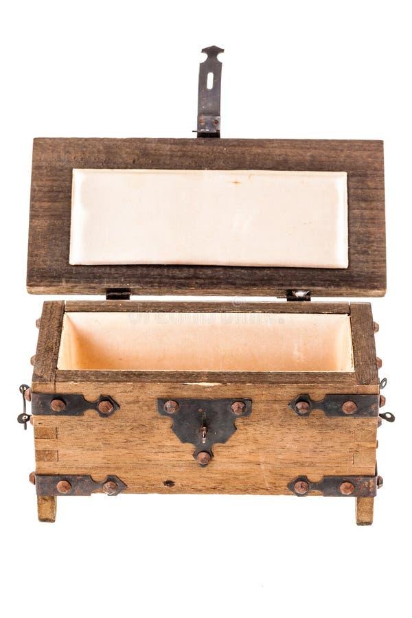 Otwiera średniowiecznego kaseton obraz royalty free
