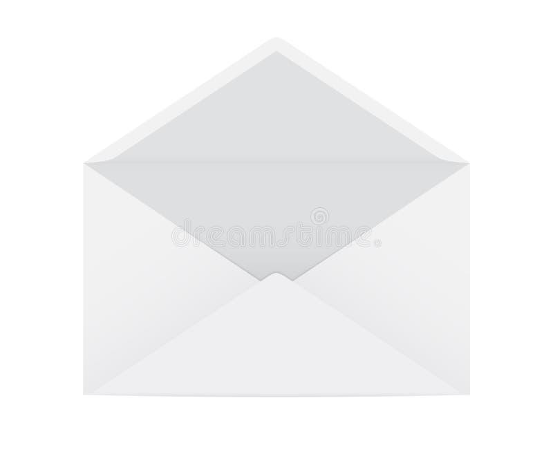 Otwiera kopertę ilustracja wektor
