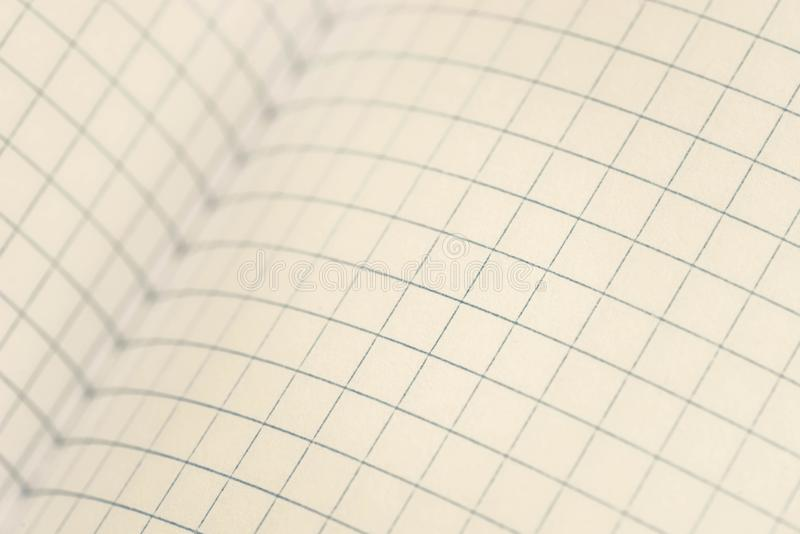 Otwiera notatnika makro- obrazy royalty free