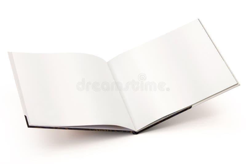 Otwiera pustą książki ścieżkę obrazy royalty free