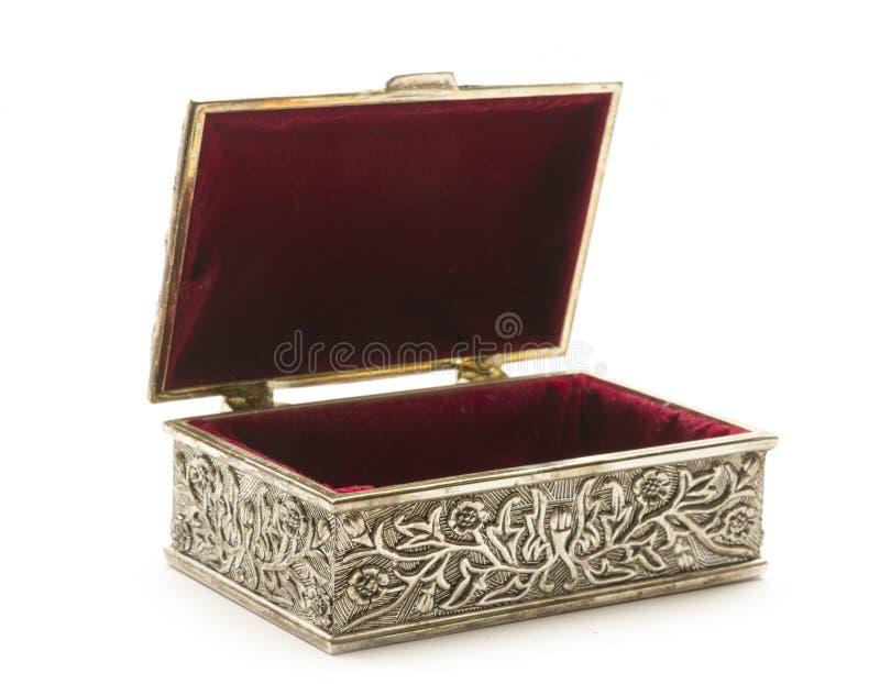Otwiera srebnego kaseton obrazy royalty free