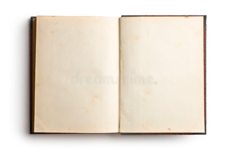 Otwiera starą książkę obrazy royalty free