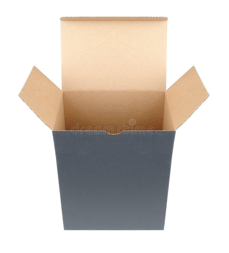 otworzyć pudełko square fotografia royalty free