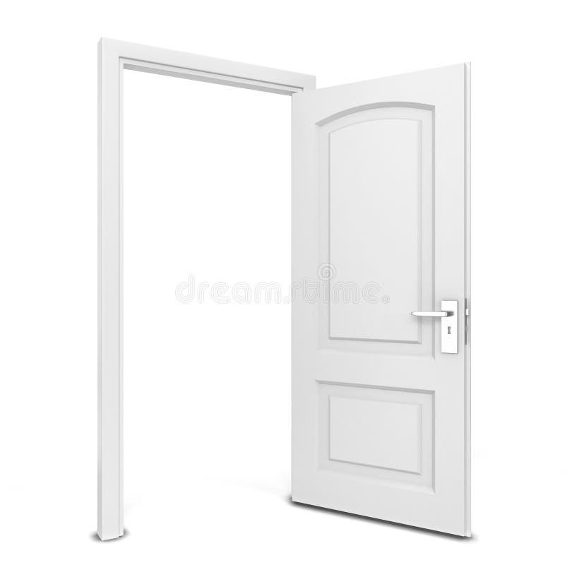 otworzyły się drzwi royalty ilustracja
