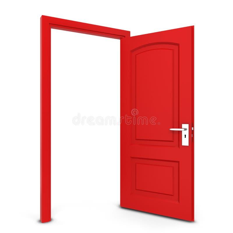 otworzyły się drzwi ilustracji