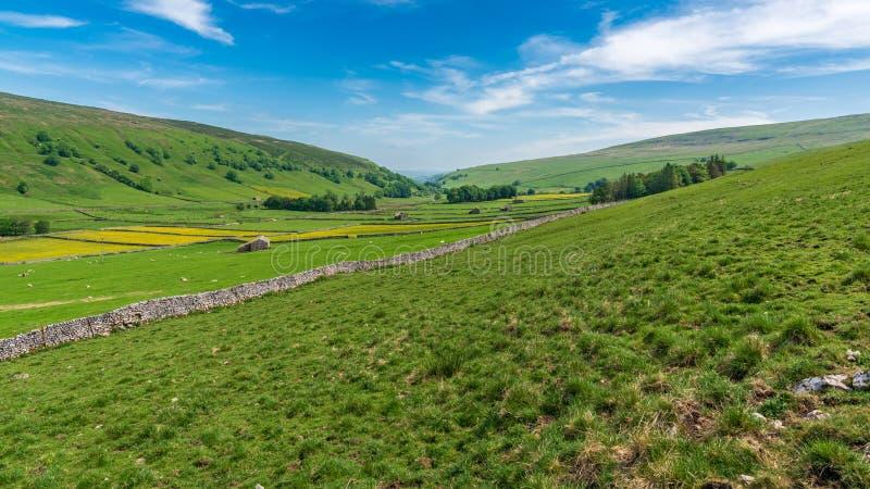 Ouïe de Halton, North Yorkshire, Angleterre, R-U photos stock