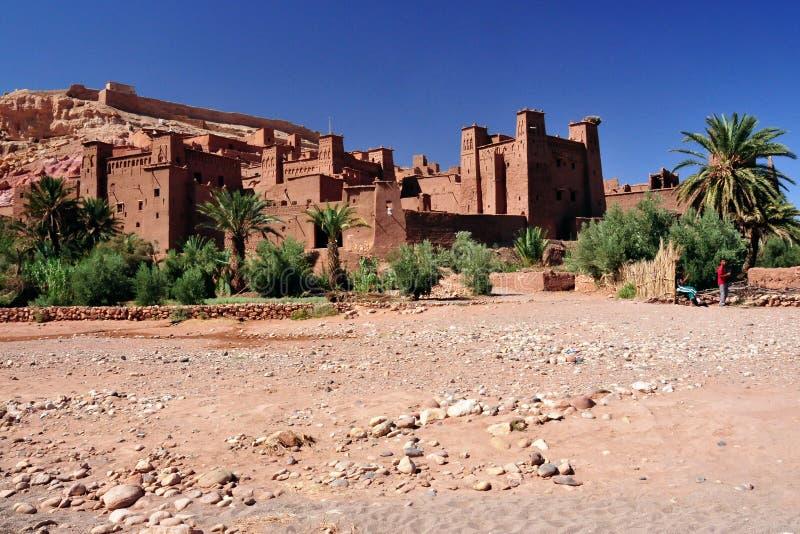 Ouarzazate em Marrocos fotografia de stock