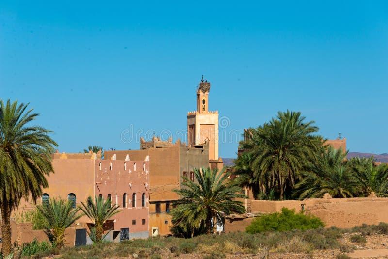 Ouarzazate marocain de ville de berber photographie stock